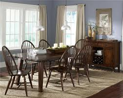 liberty furniture cabin fever center island pub table with 4