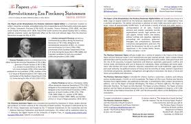 pinckney statesmen papers project announces publication of volume