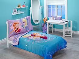 Purple Toddler Bedding Set Disney Frozen Magical 4 Toddler Bedding