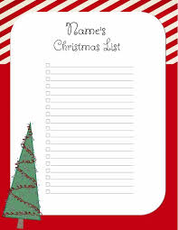 christmas wish list maker free christmas list template customize online print at home