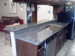 granite countertop kitchen cabinet rails multicolor slate