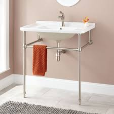Bathroom Sink With Cabinet by Bathroom Console Sinks Signature Hardware