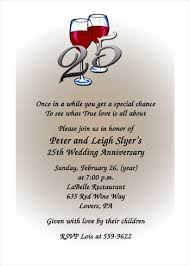 discount 99 silver 25th wedding anniversary invitations