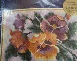 needlepoint kits etsy