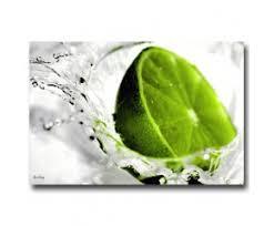 tableau decoration cuisine tableau déco cuisine citron vert