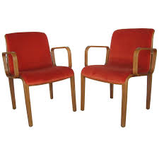 Knoll Chair Pair Authentic Vintage Knoll International Chairs For Sale At 1stdibs