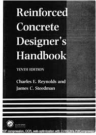 reinforced concrete designers handbook 10th edition reynolds steedman