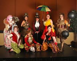 Halloween Circus Costumes 710 Halloween Carnevil Sinister Circus Night Circus