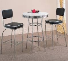 Retro Bar Table Soda Style Bar Table Foter
