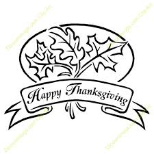 free black and white thanksgiving clipart clipartxtras