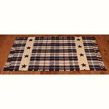 Primitive Country Area Rugs Americana Patriotic Area Rug 63