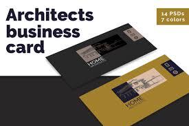 architects minimalist business card material brand brand identity