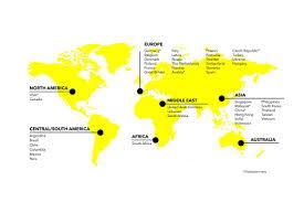 Hungary World Map Locations