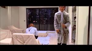 Christian Bale Axe Meme - american psycho funny raincoat scene youtube