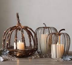 Pottery Barn Fall Decor - pumpkin decor from pottery barn fall decor autumn ad fall