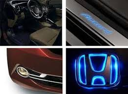honda car accessories honda blue car keyring honda blue car keychain