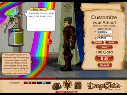 dragon fable armor paint room 2012 upgrades hex color codes