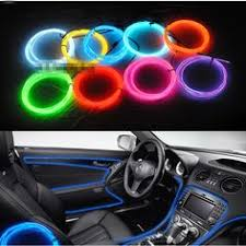 Led Light For Car Interior Interior Car Led Neon Glow Wire Lighting Strip Plug And Play
