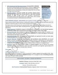 Financial Resume Example by Executive Resume Finance Tori Nominated Resume Sample Mary