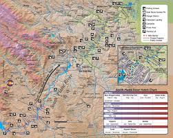 Maps Colorado South Platte River Public Access Map Fishing Map Colorado