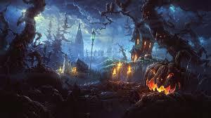 halloween computer wallpaper free download