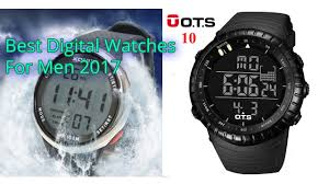 Discount Military Watch Mens Watches For Men Multifunction Sports Waterproof Led 2 Best Digital Watches For Men 2017 Best Smartwatch Most Stylish