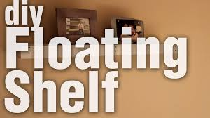 Shelves From Pallets by Diy Floating Shelf From Pallet Wood Youtube