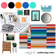 modern colorful boy u0027s room reveal with beddy u0027s and make and do studio
