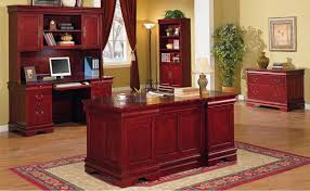 Wood Home Office Furniture Cherry Office Furniture Furniture Home Decor