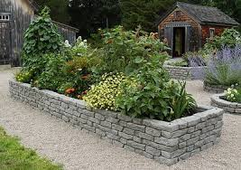How To Build A Rock Garden Bed Patio Decorating Ideas Plants Photos Here S Another Raised