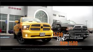 dodge ram 1500 lease 2016 ram 1500 209 mo lease offer safford of springfield