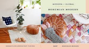 hesby bohemian modern chic home decor