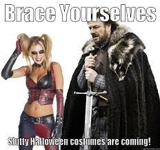 Sexy Halloween Meme - sexy harley quinn meets imminent ned quickmeme