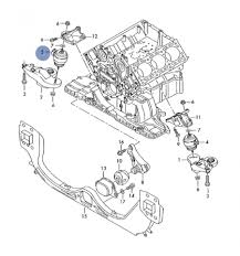 audi support motor support hydraulic bearing for audi a4 ref 8e0199379k