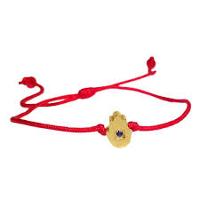 string red bracelet images Delicate red string bracelet with tiny blue sapphire yellow gold jpeg