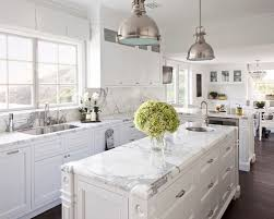 White Backsplash Kitchen by White Kitchen With White Backsplash Kitchen And Decor