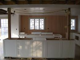 kitchen island posts kitchen island with columns the wall has been removed and the