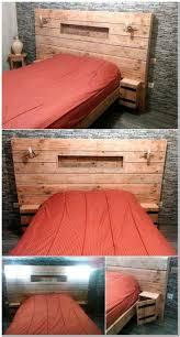 Pallet Bed Furniture Ideas 186 Best Pallet Beds Images On Pinterest Pallet Furniture