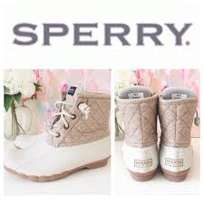 womens sperry duck boots size 9 26 sperry shoes like sperry top sider quilted duck