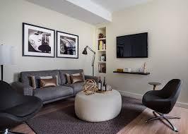 salon canap gris design interieur tendances déco aménagement salon rétro canapé