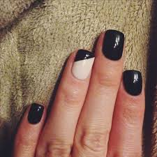best 25 black shellac nails ideas on pinterest shellac nail