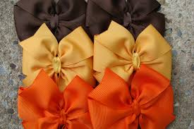 thanksgiving hair bows hair bow fall hair bows thanksgiving hair bows pumpkin hair
