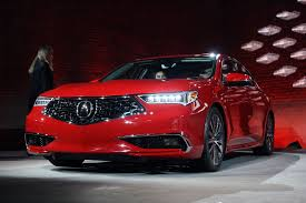 lexus vs acura tlx updated 2018 acura tlx debuts with swanky new grille autoguide
