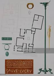house with a floor plan and ornamental motifs pictures getty images