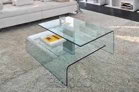 Modern Glass Coffee Tables Coffee Table Harrow Italian Contemporary Glass Coffee Table