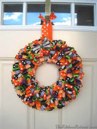 ribbon wreaths diy projects wreaths