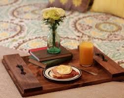 ottoman trays home decor rustic ottoman tray etsy