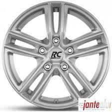 rc design rc27 jante rc design rc27 argent cristal 6 5 par 17 pouces et33