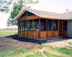 screened porch u003e projects u003e bender construction company