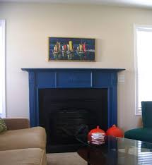 Home Colour Decoration by Flossy Painted Fireplace Color Decoration Styles And Artworks